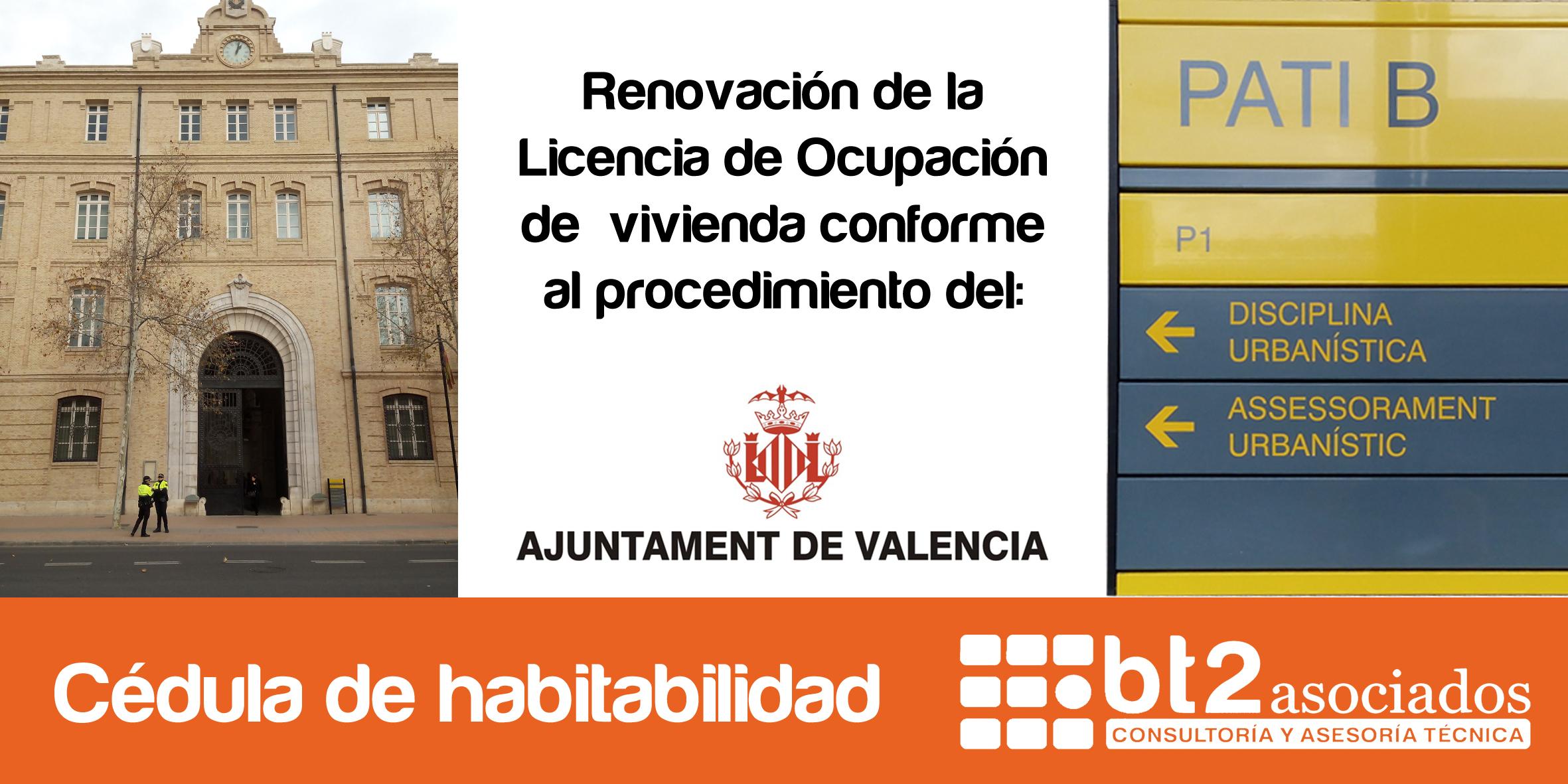 Ayuntamiento licencia de Ocupacion